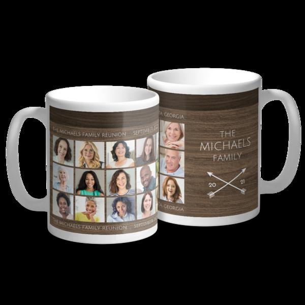 The Journey Awaits Collage Mug