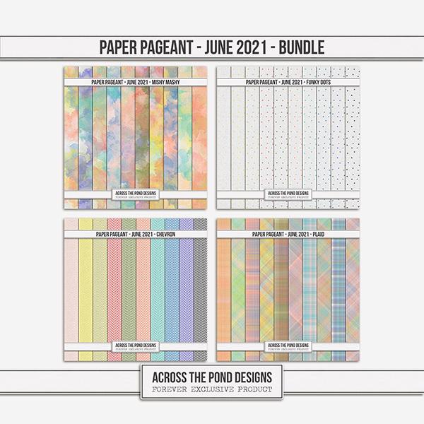 Paper Pageant - June 2021 - Bundle