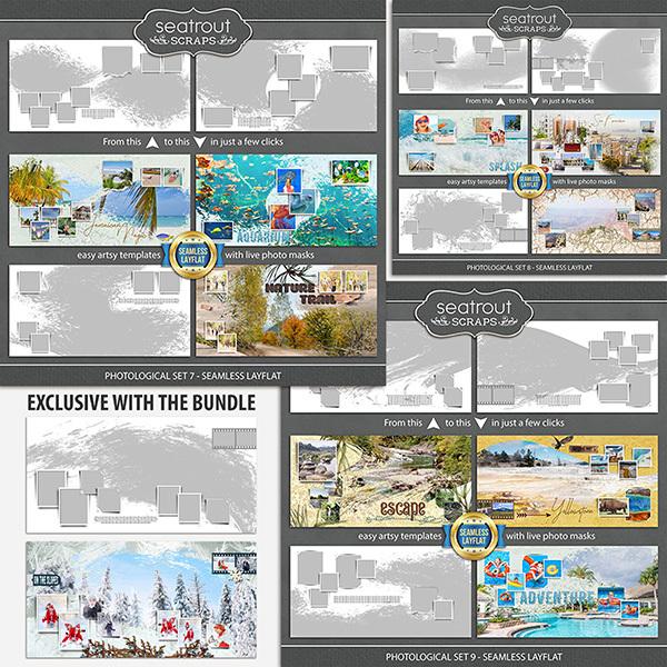 Photological Bonus Bundle 3 - Seamless Layflat