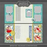 Birthday Boy - Pre Designed Mini Photo Book