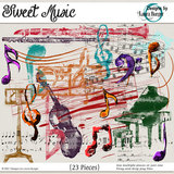 Sweet Music Brushes