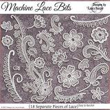 Machine Lace Pieces