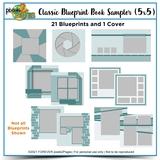 Classic Blueprint Sampler 5x5