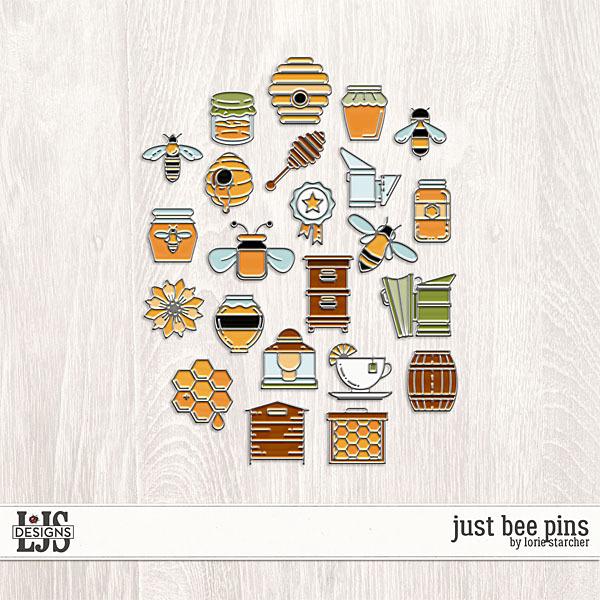 Just Bee Pins