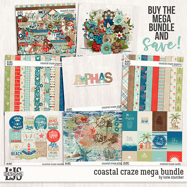 Coastal Craze Mega Bundle