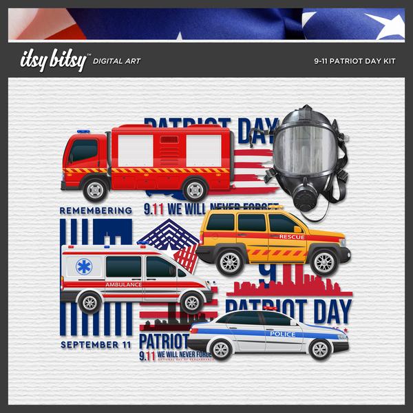 9-11 Patriot Day Kit
