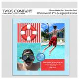 Waterworld Pre-Designed Canvas