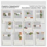 Succulents Calendar 2022 - 12x18