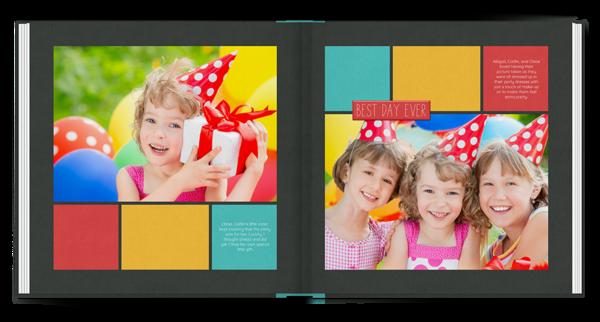 Cake Day Book Photo Book