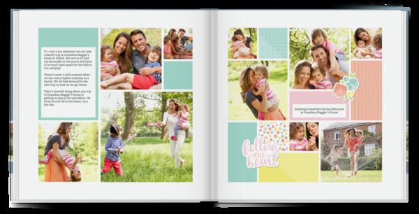 Follow Your Heart Book Photo Book