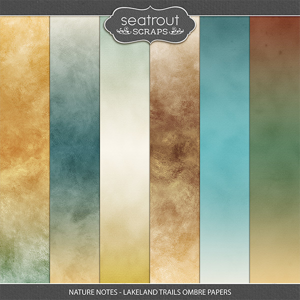 Nature Notes - Lakeland Trails Ombre Papers