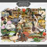 Nature Notes - Lakeland Trails Embellishments