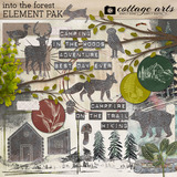 Into the Forest Element Pak