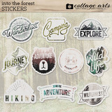 Into the Forest Stickers
