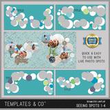 Seamless Layflat Seeing Spots 1-4