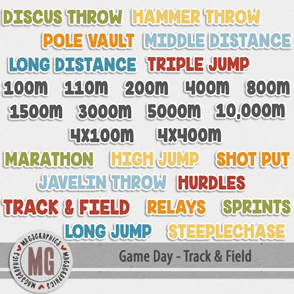 Game Day Track & Field Events