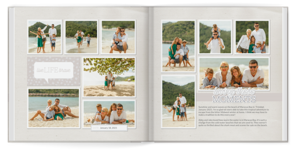 Loving These Moments Book Photo Book