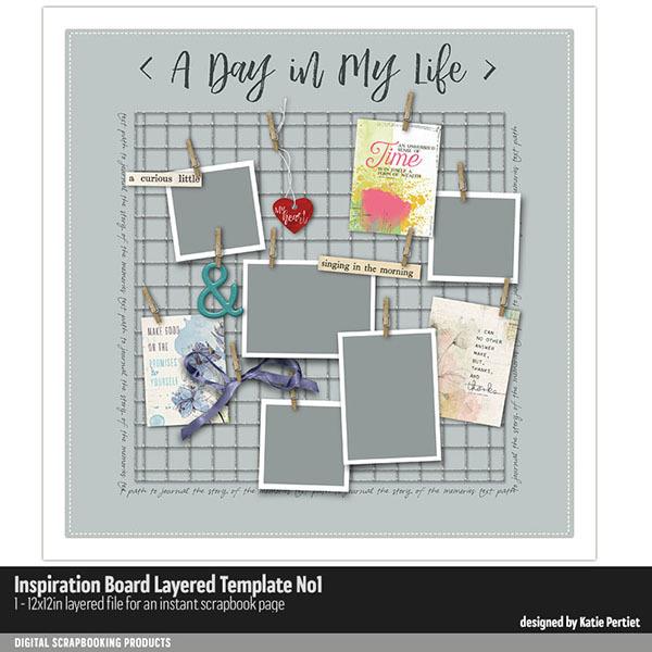 Inspiration Board Layered Template 01