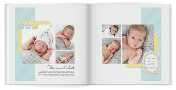 Little One Book Photo Book