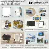 Simply Storyboards 2 SLF Pre-designed Book