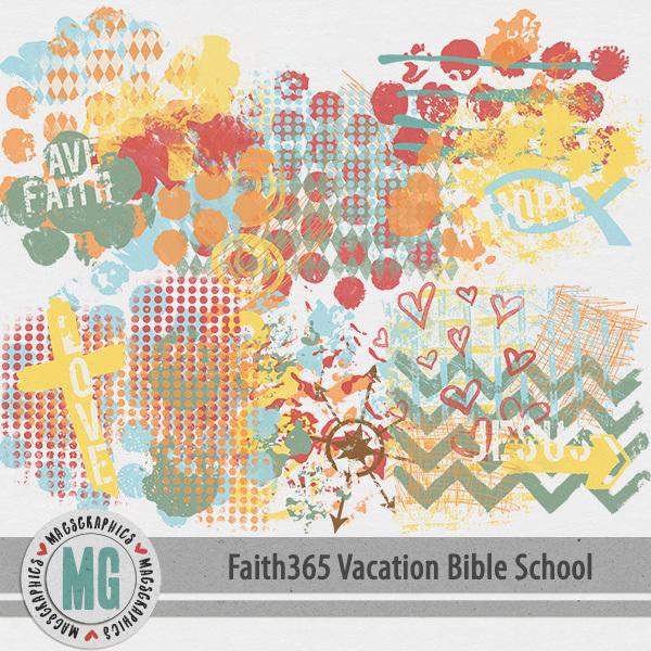 Faith365 Vacation Bible School Hodge Podge Digital Art - Digital Scrapbooking Kits