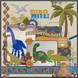 Dino World Silhouettes