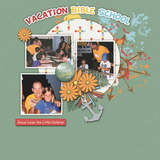 Faith365 Vacation Bible School Word Art