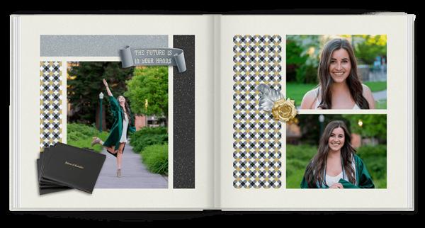 Graduation Brag Book Photo Book