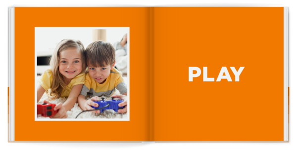 My Book of Sight Words Photo Book
