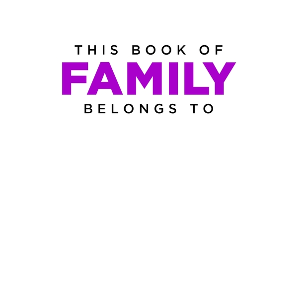 My Book of Family