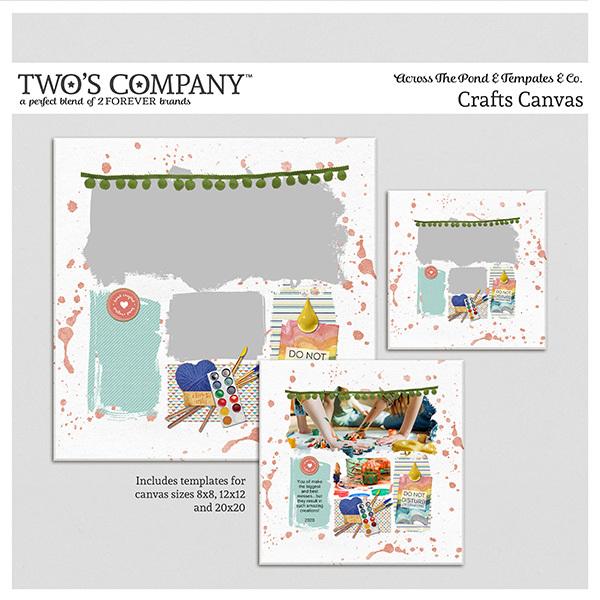 Craft Canvas Digital Art - Digital Scrapbooking Kits