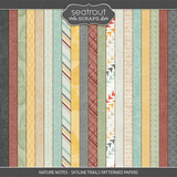 Nature Notes - Skyline Trails Patterned Papers