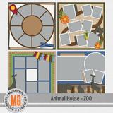 Animal House - Zoo Templates