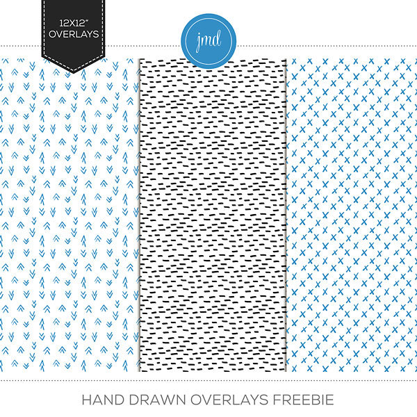 Hand Drawn Overlays Freebie