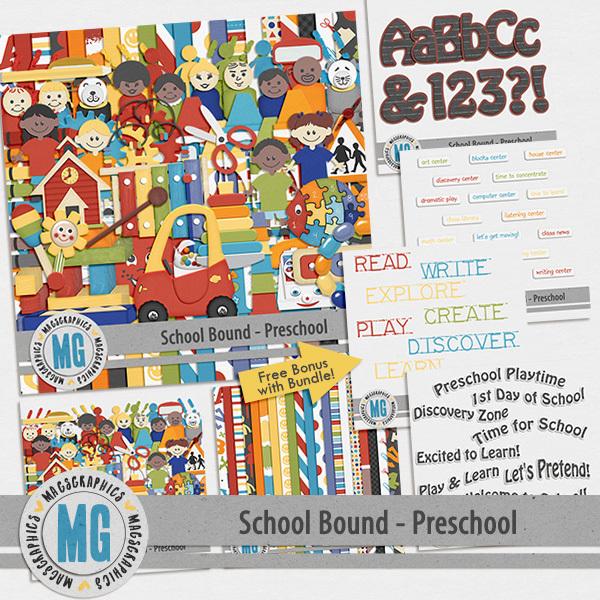 Preschool Bound Bundle