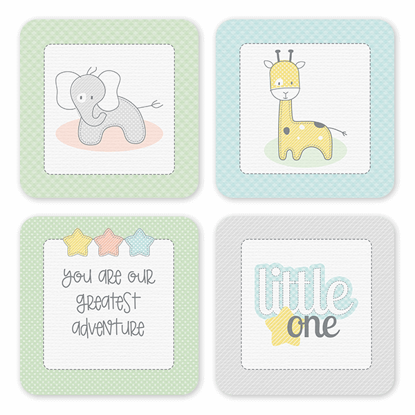 Little One Coasters Coaster Set