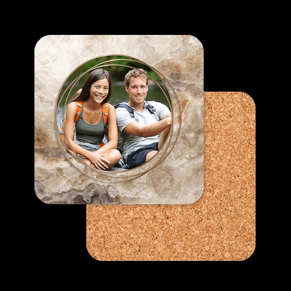 Modern Marble Coasters