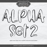 Artistic License Graffiti Alpha Set 2