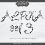 Artistic License Graffiti Alpha Set 3