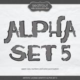 Artistic License Graffiti Alpha Set 5