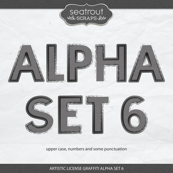 Artistic License Graffiti Alpha Set 6