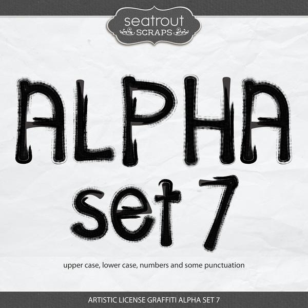 Artistic License Graffiti Alpha Set 7