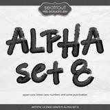 Artistic License Graffiti Alpha Set 8
