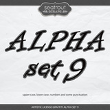 Artistic License Graffiti Alpha Set 9