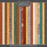 Nature Notes - Parkland Paths Patterned Papers