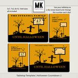 Tabletop Template - Halloween Countdown 2