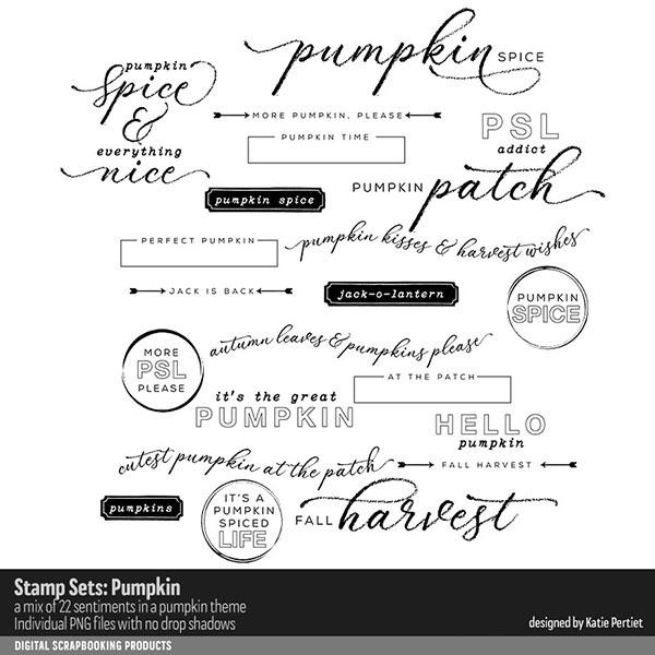 Stamp Sets Pumpkin