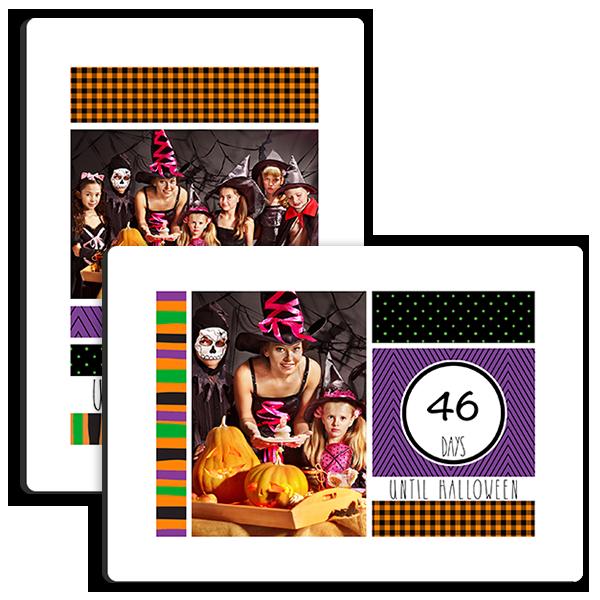 Halloween Countdown Tabletop Tabletop Panel