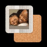 Natural Chevron Pre-Designed Coasters