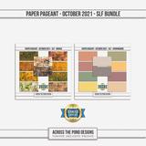 Paper Pageant - October 2021 - SLF - Bundle